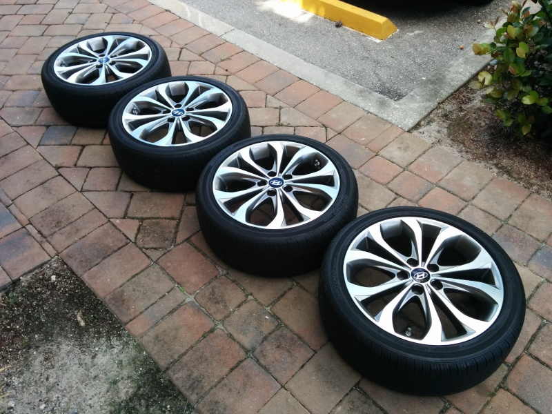 Fs 2013 Oem 18 Quot Wheels Amp Tires Amp Tpms Hyundai Forums
