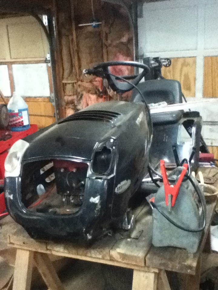 Murray Racing Mower : Murray racing mower