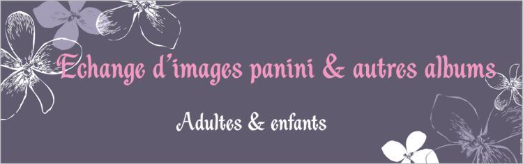 Echange d'images Panini et autres albums
