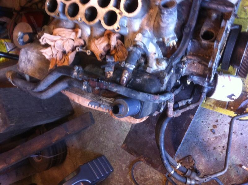 Rover V8 Serpentine Conversion