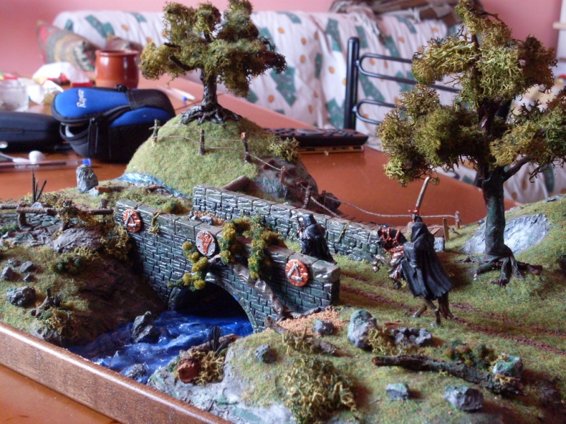 Primo diorama the lord of rings