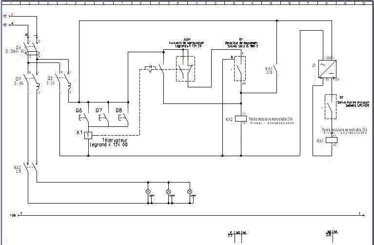 Commander l 39 clairage ext rieur via une sortie d 39 alarme for Eclairage exterieur sans branchement