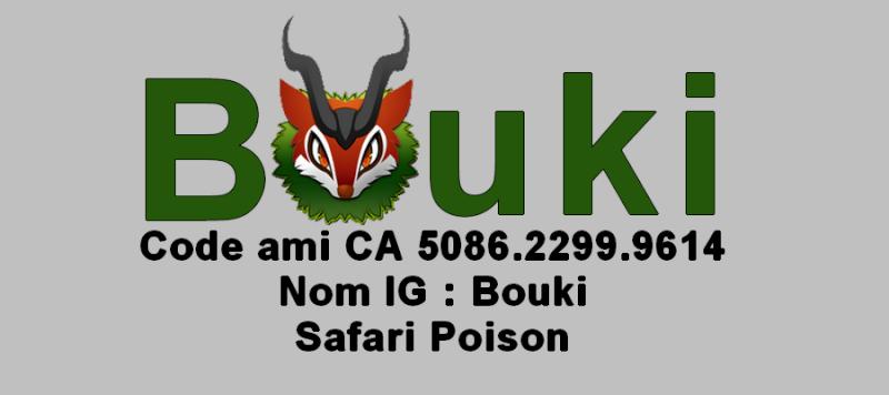 Avatar du membre : Bouki