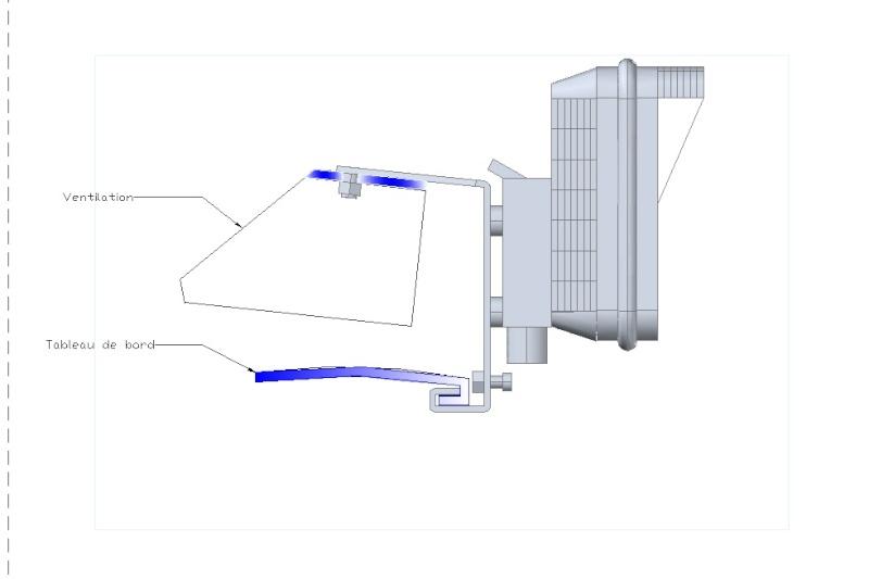 Support gps sur grille de ventilation pare brise 1500 - Support gps garmin grille ventilation ...
